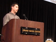 My Keynote Speech at the 2014 Scholastic Award Ceremony